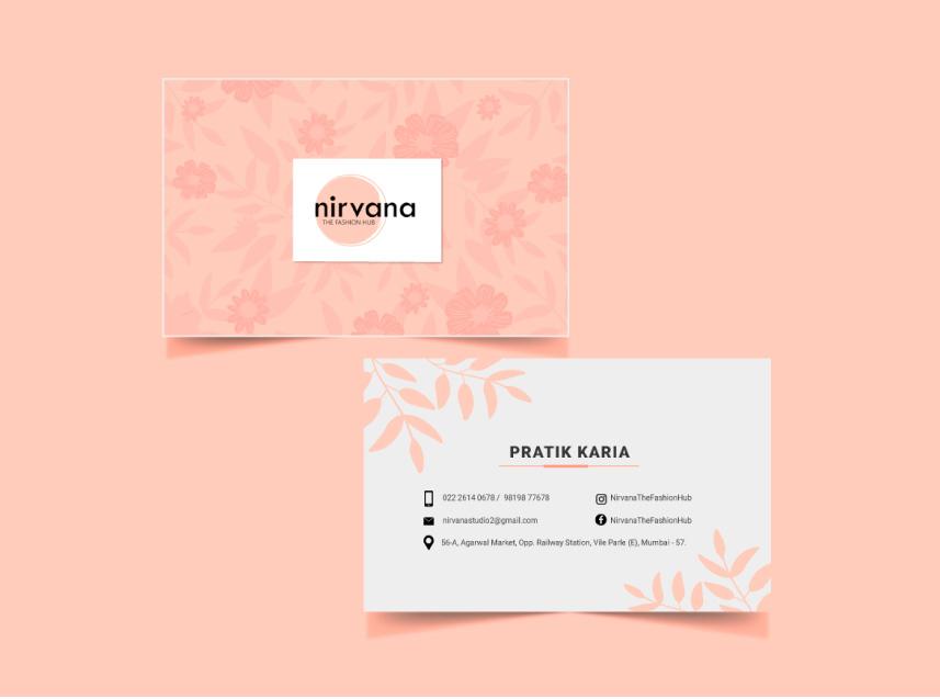 Nirvana-business-card