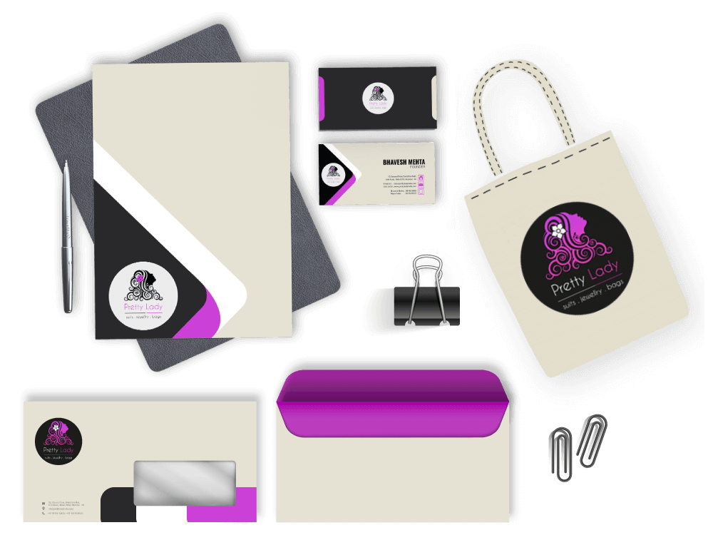 branding - marketing print collateral designing